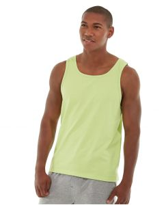 Tiberius Gym Tank-XL-Yellow