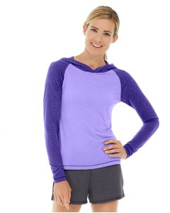 Ariel Roll Sleeve Sweatshirt-XL-Purple
