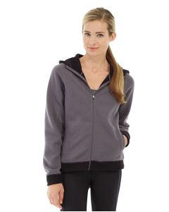 Circe Hooded Ice Fleece-XL-Gray