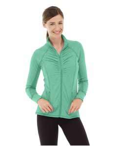 Riona Full Zip Jacket-XS-Green
