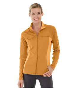 Inez Full Zip Jacket-S-Orange