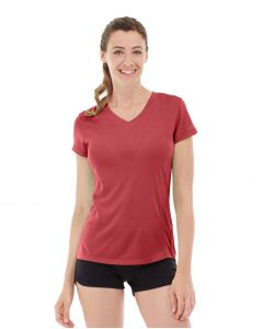 Gabrielle Micro Sleeve Top-XL-Red