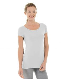 Tiffany Fitness Tee-M-White